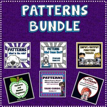 Number Patterns Bundle