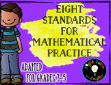 Eight Mathematical Practice Standards - Common Core - Adap