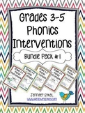 Phonics Interventions Bundle