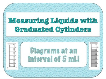 Graduated Cylinder Diagrams (5 mL Interval)