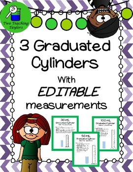 Graduated Cylinders: Editable measurements for Interactive
