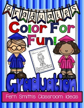 FREE Graduation Coloring Pages