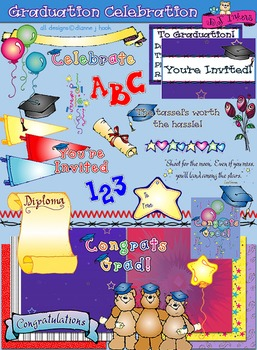 Graduation Celebration Clip Art & Printables