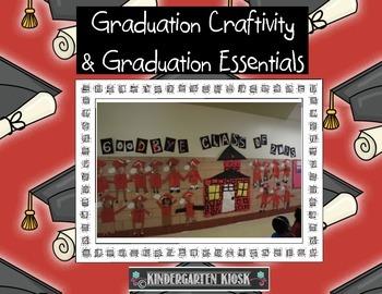 Kindergarten Graduation Craftivity and Other Graduation Es