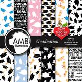 Graduation Digital Papers, scrapbooking papers AMB-516