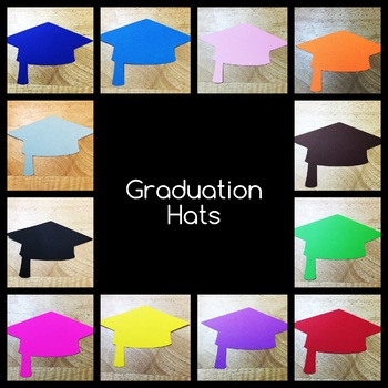 Graduation Hats - 7 inches wide