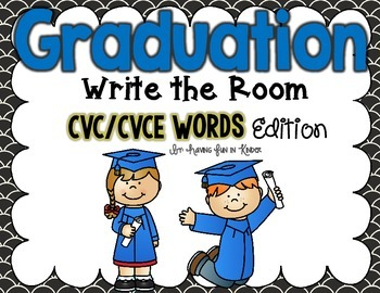 Graduation Write the Room - CVC/CVCE Edition
