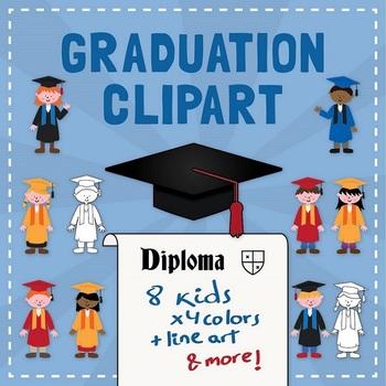 Graduation clipart