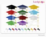 Graduation clipart, PNG clip art (038)