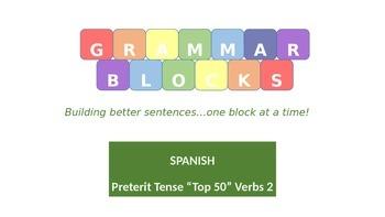 Grammar Blocks - Spanish Preterit Tense Conjugation 2