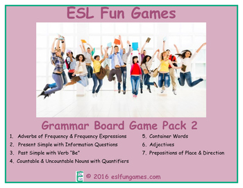 Grammar Board Games Pack 2 Game Bundle