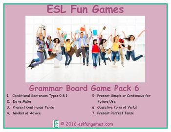 Grammar Board Games Pack 6 Game Bundle