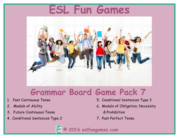 Grammar Board Games Pack 7 Game Bundle