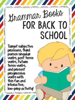 Grammar Books for Back to School