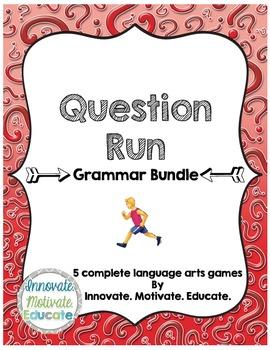 Grammar Bundle: Question Run Games