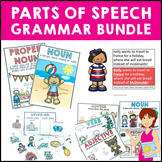 Grammar Bundle - 5 Packs of  Worksheets and Activities