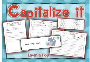 Grammar - Capitalize It: First Word