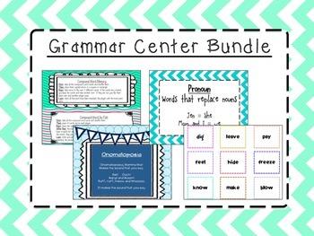 Grammar Center Bundle