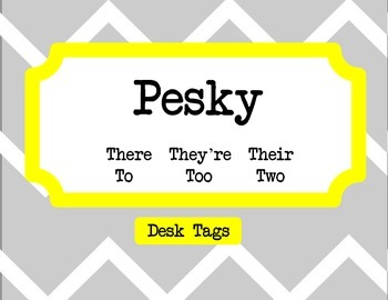 Grammar Desk Tags