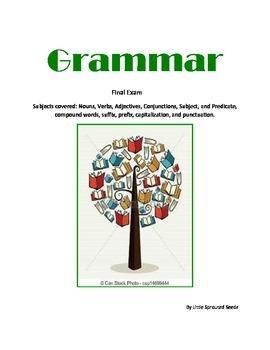 Grammar, Enlgish test