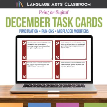 Bell Ringers and Grammar Errors for December