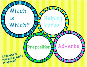 Grammar Fun: Adverbs, Prepositions, and Helping Verbs