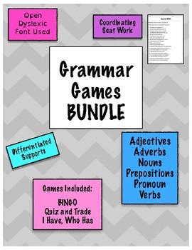 Grammar Games 15 Game Mega Bundle
