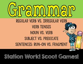 Grammar Games Set 2