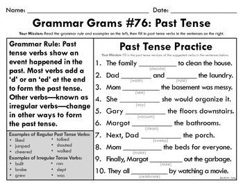 Grammar Grams (76-85): Grammar Rules