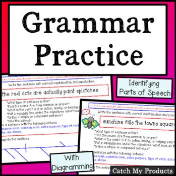 Grammar Groomers (Advanced) for The Promethean Board