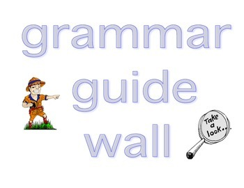 Grammar Guide Wall Page 1