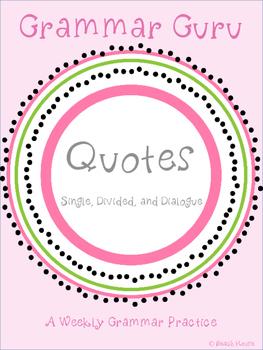 Grammar Guru - Quotes