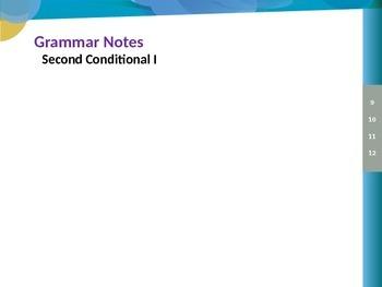 Grammar Notes: Second Conditional I