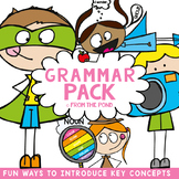 Grammar Pack {Posters and Notebook Pages}