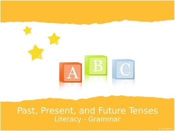 Grammar - Past, Present, and Future Tenses Using Animation