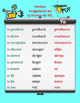 Grammar Pop * Irregular Present Verbs YO Form * Presente V