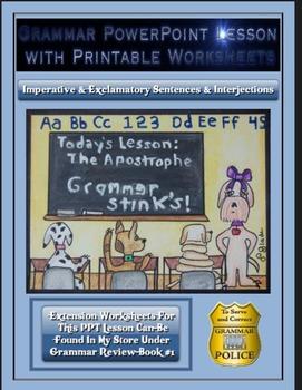 Grammar PowerPoint & Handouts-Imperative & Exclamatory Sen