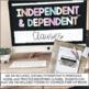 Grammar Practice - Independent & Dependent Clauses - Commo