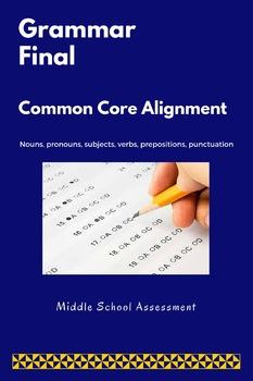 Grammar Pre/Post Assessment