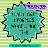 Grammar Progress Monitoring Tool for Speech Language Thera