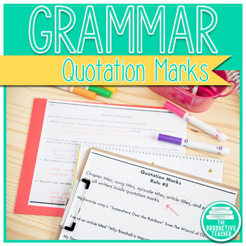 Grammar: Quotation Marks
