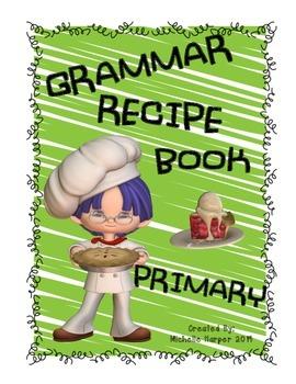 Grammar Recipe Book Primary