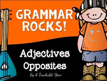 Adjectives- Grammar Pack