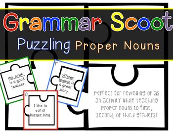 Grammar Scoot - Proper Nouns