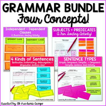 Grammar: Sentences Growing Bundle