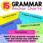 Grammar Skills Mini Anchor Charts