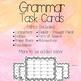 Grammar Task Card Series - BUNDLE!