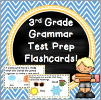Grammar Test Prep Flashcards