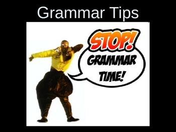 Grammar Tips Presentation