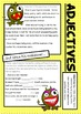 Grammar - Word Types and Classes Comic Book - Workbook and